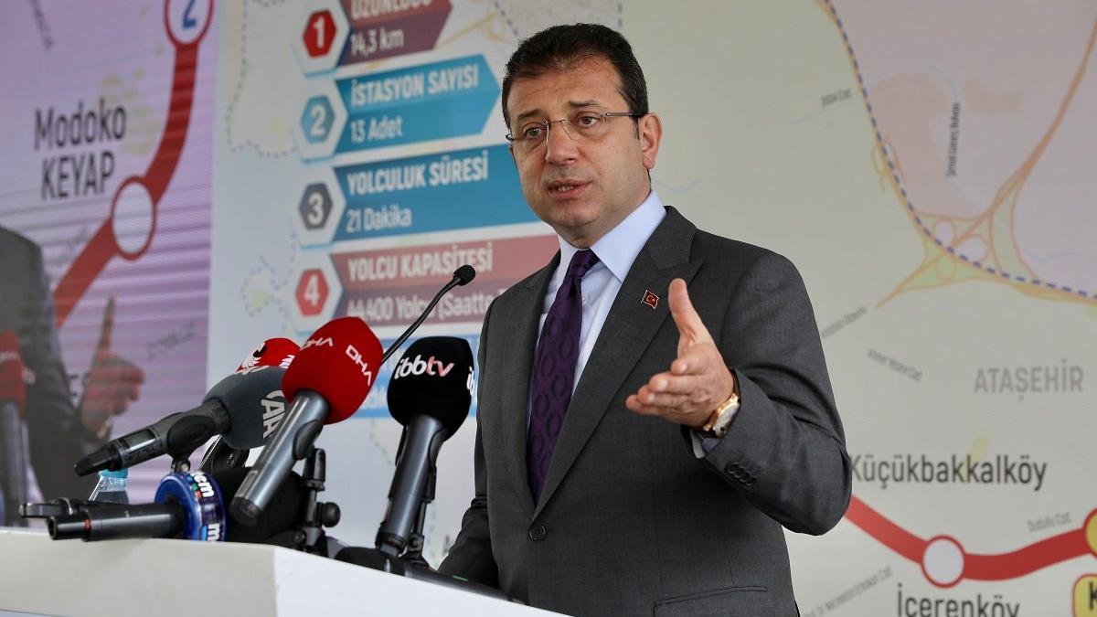 İmamoğlu isim vermeden Erdoğan'ı eleştirdi
