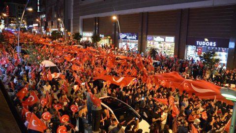 Türkiye'nin demokrasi zaferi dört yaşında