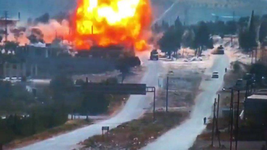 Türk-Rus ortak devriyesi sırasında bombalı saldırı!