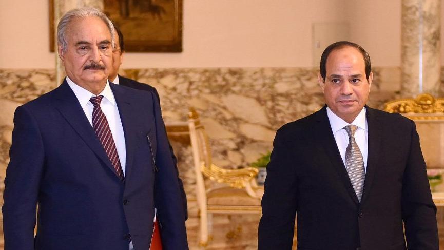 Libya'daki Hafter Mısır'ı yardıma çağırdı