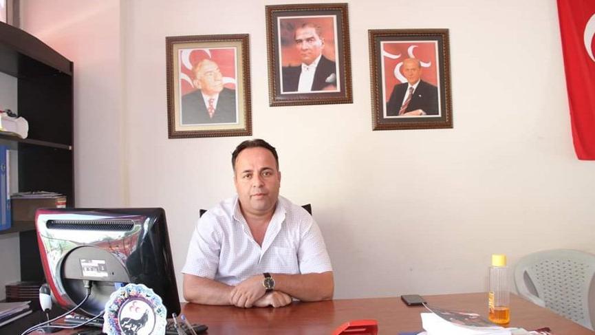 MHP'de ilçe başkanı istifa etti!