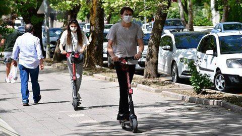 Elektrikli scooter'lara yasal düzenleme bekleniyor