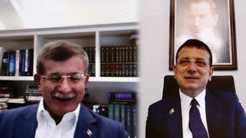 Davutoğlu'ndan İmamoğlu'na 'Kanal İstanbul' desteği