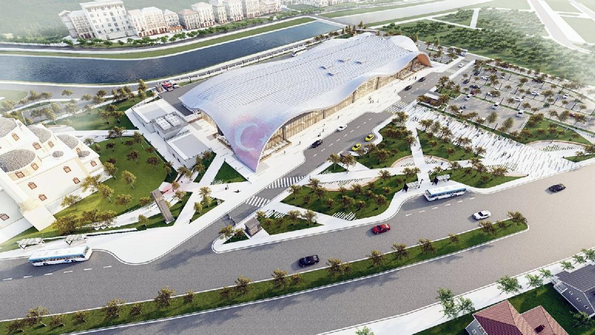 AKP'li belediye dere yatağına 70 milyon liralık otogar yapacak