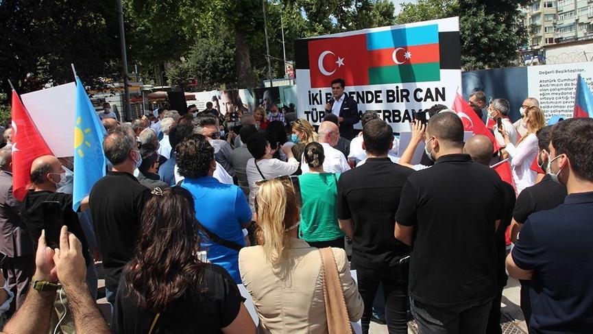İYİ Parti'den Azerbaycan'a destek!