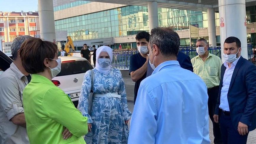 CHP'li Kaftancıoğlu'ndan şehit polisin ailesine taziye ziyareti