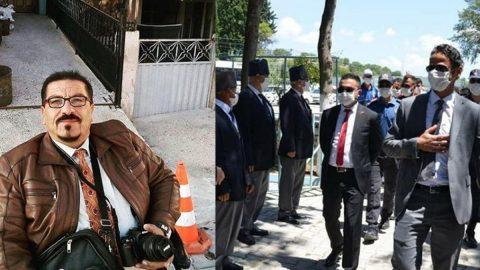 Çekmediği fotoğrafı 'haber yapabilir' iddiasıyla ifadeye çağrıldı