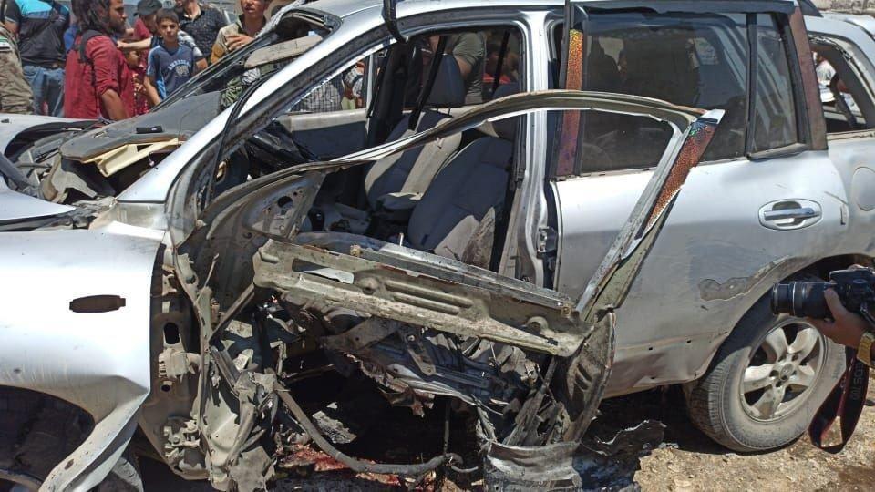 Afrin'de patlama: Yaralılar var
