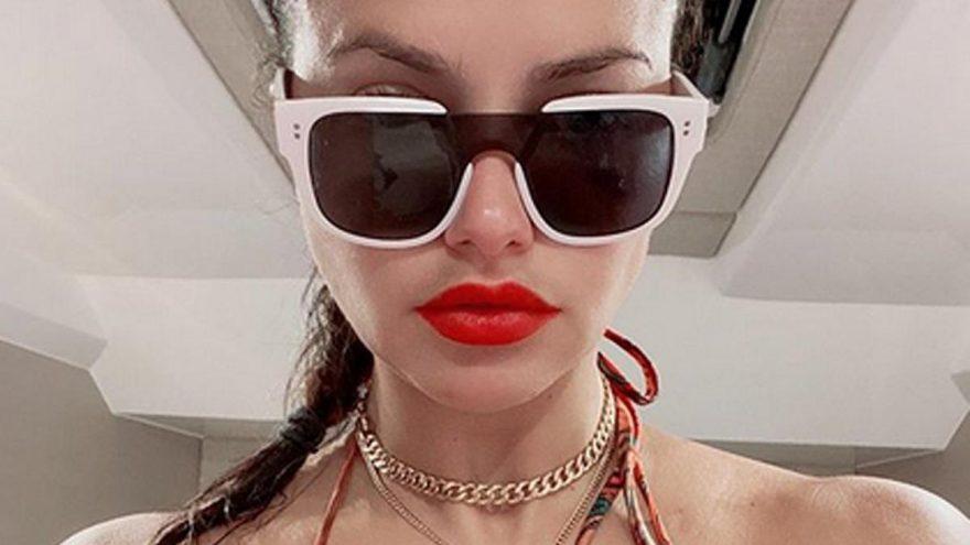 Adriana Lima'nın yazlık modu!