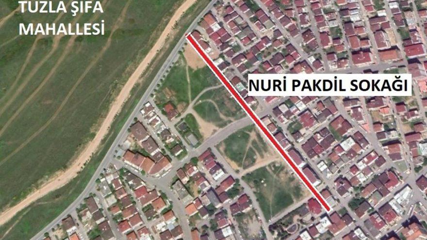 Atatürk'e hakaret eden yazarın adı Tuzla'da sokağa verildi