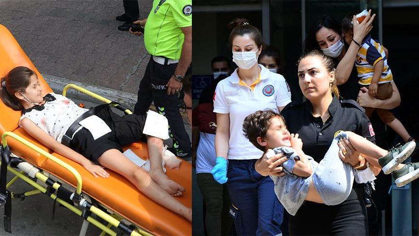 Adliyeye silahlı saldırı: Üçü çocuk altı kişi yaralandı