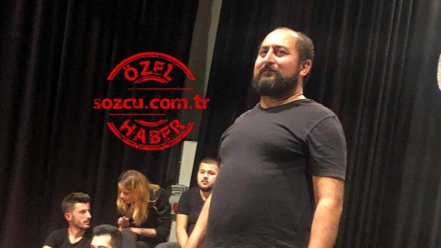 MHP'li Başkan, Şehir Tiyatrosu Genel Sanat Yönetmeni'ni temizlik işlerine sürdü