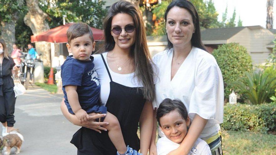 Almeda Abazi ailesiyle bir araya geldi