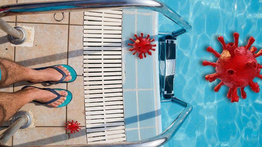 Havuzda corona riski var mı?