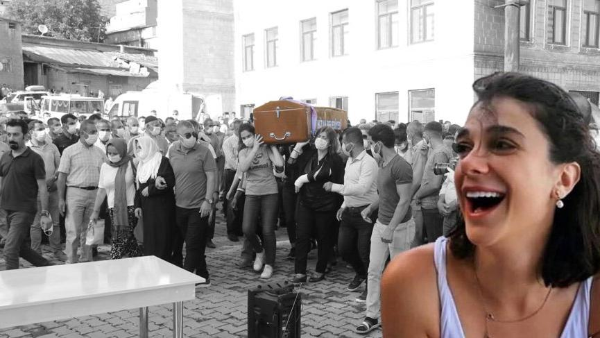 Vahşice öldürülen Pınar Gültekin son yolculuğuna uğurlandı!