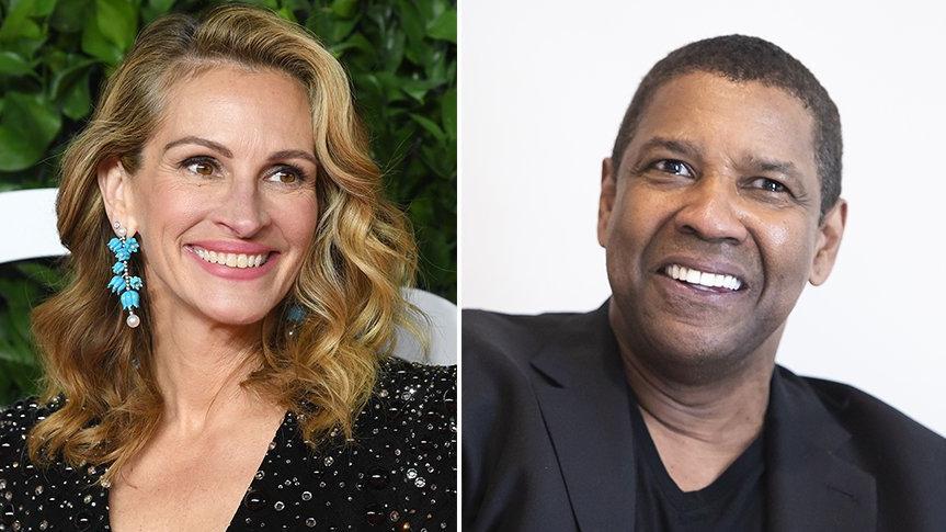 Denzel Washington ve Julia Roberts, Netflix yapımı filmin başrollerinde yer alacak