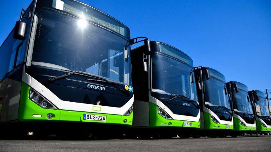Malta'ya 50 adet otobüs gönderdiler…