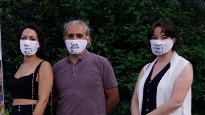 Ceviz Ağacı'nın oyuncularından kadın cinayetlerine karşı anlamlı eylem