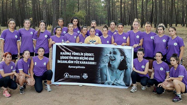 Pınar için koştular