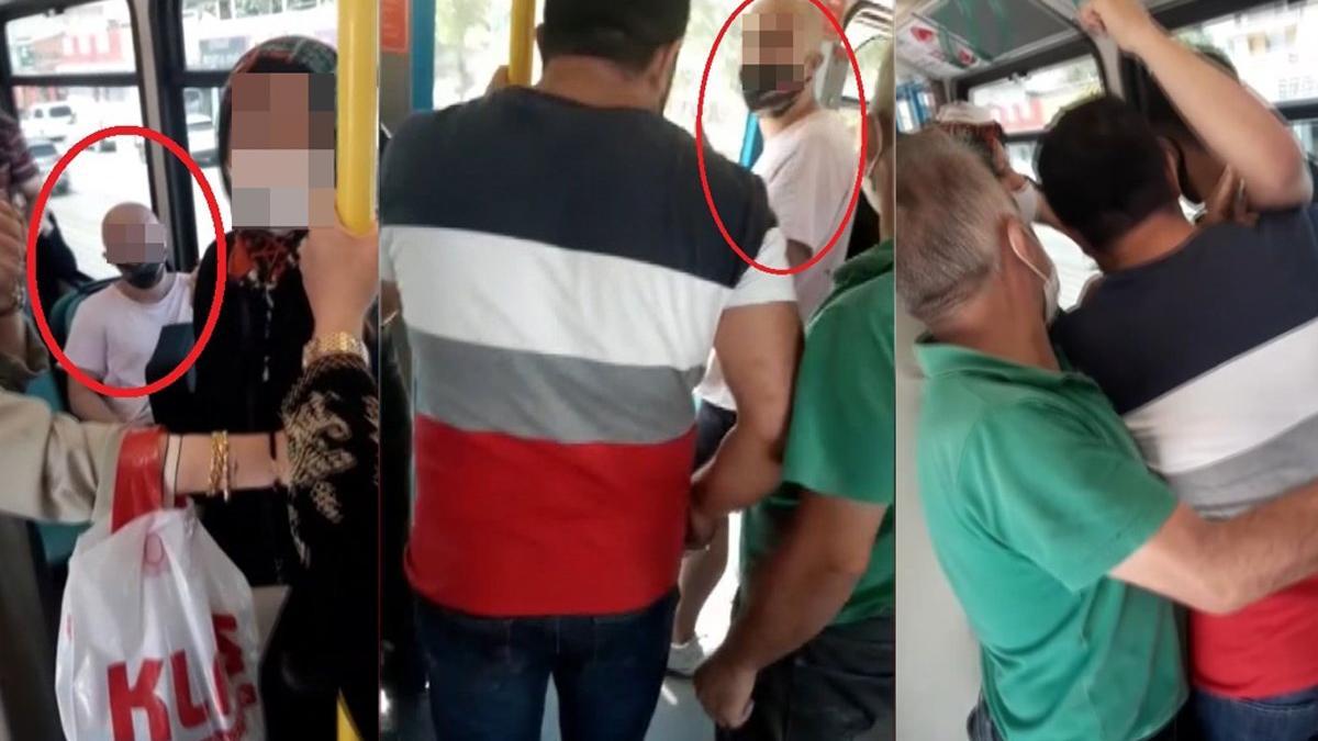 Metroda kadınların gizlice fotoğrafını çektiği iddiasıyla dövüldü