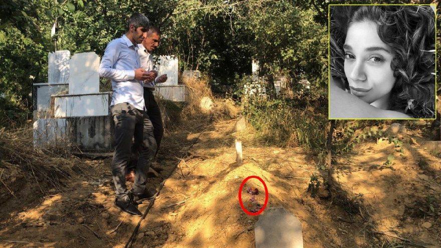 Pınar Gültekin'in mezarına bırakılanlar duygulandırdı