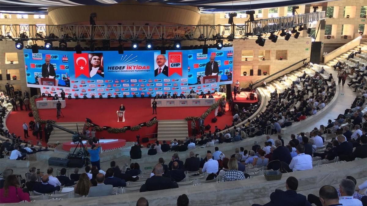CHP lideri Kılıçdaroğlu 37. Olağan Kurultay'da 'İktidar Manifestosu'nu açıklıyor