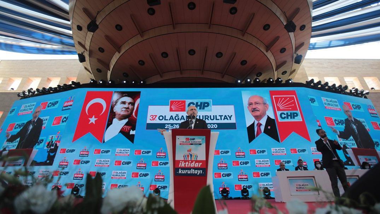 CHP lideri Kılıçdaroğlu 37. Olağan Kurultay'da 'İktidar Manifestosu'nu açıkladı