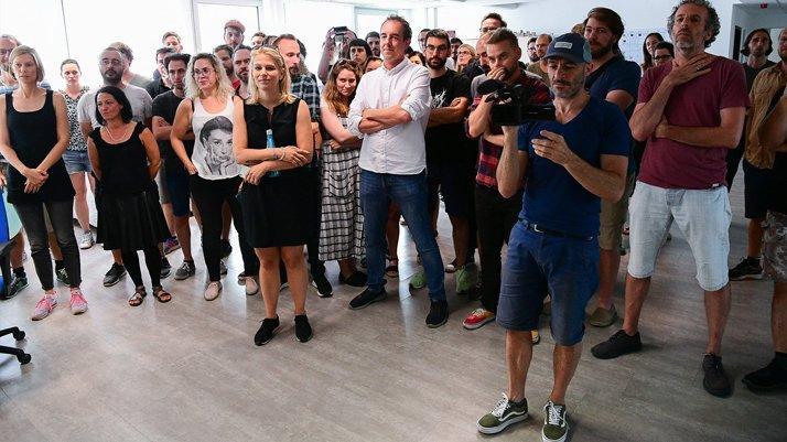 Genel yayın yönetmeni kovulan gazetede 80'den fazla çalışan istifa etti!