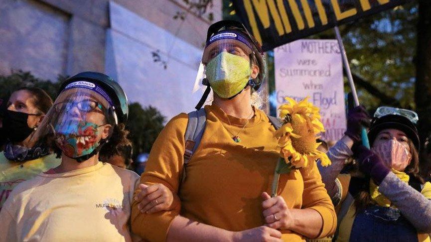 ABD'de binlerce kişi yeniden sokakta! Göstericilerle polis çatıştı