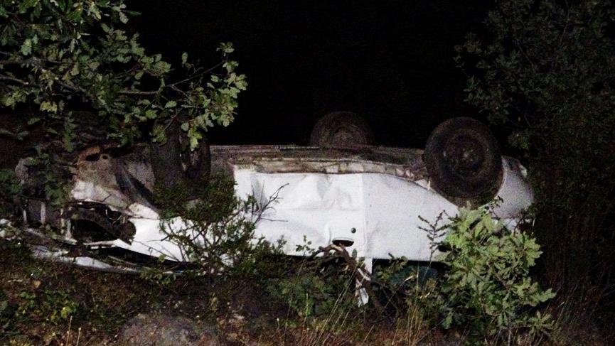 Cenaze dönüşü feci kaza: 3 kardeş olay yerinde hayatını kaybetti!