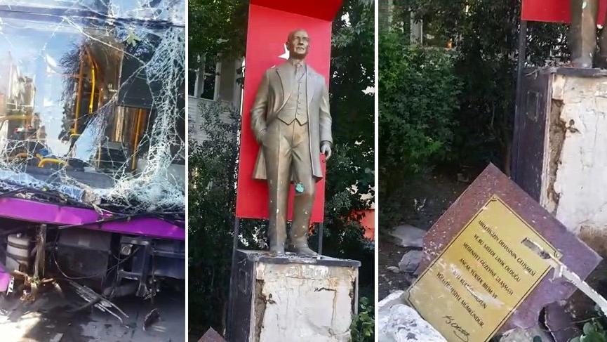 Müjdat Gezen otobüs kazasıyla ilgili SÖZCÜ'ye konuştu: Atatürk heykeli faciayı önledi