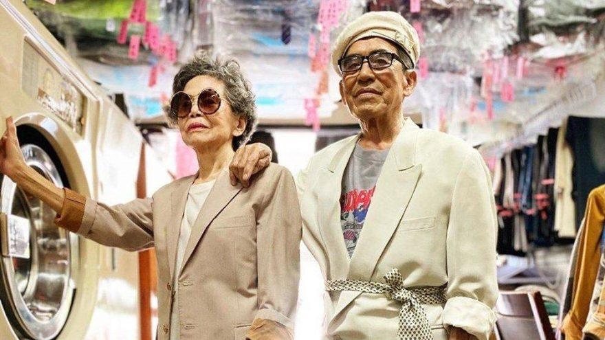 Chang Wan-ji ve Hsu Sho-er çamaşırhanede unutulan kıyafetleri giyerek fenomen oldu
