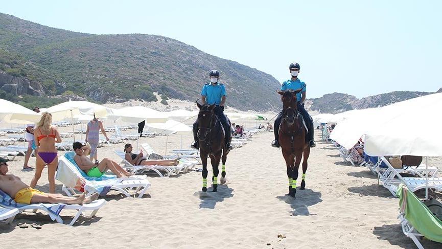 Patara'da caretta caretta yuvalarını Atlı Jandarma Timi koruyacak