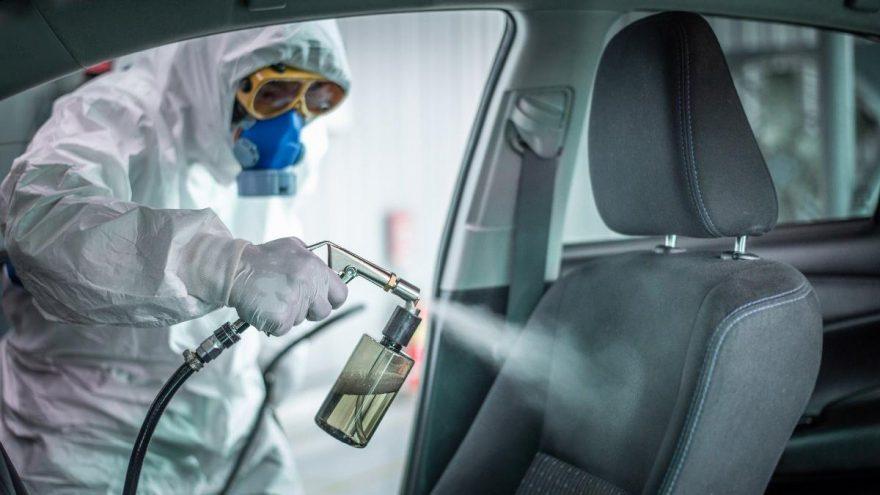 El dezenfektanı araçlara zarar veriyor!