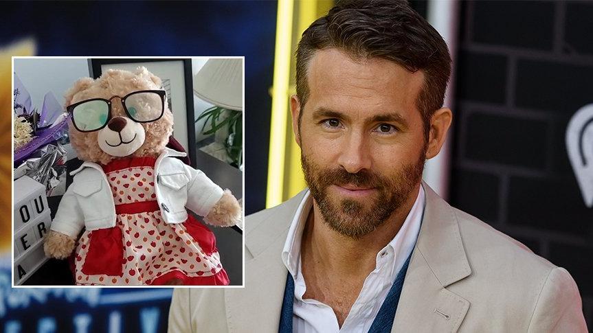 Ölen annesinin ses kaydı olan oyuncak ayısı çalınan kadına Ryan Reynolds'tan destek