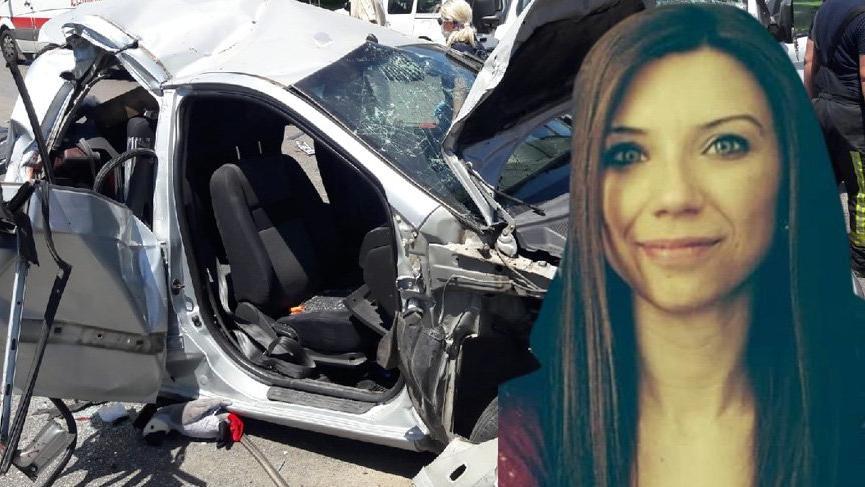 Bursa'da feci kaza: Genç kadın öldü, 4 kişi yaralandı