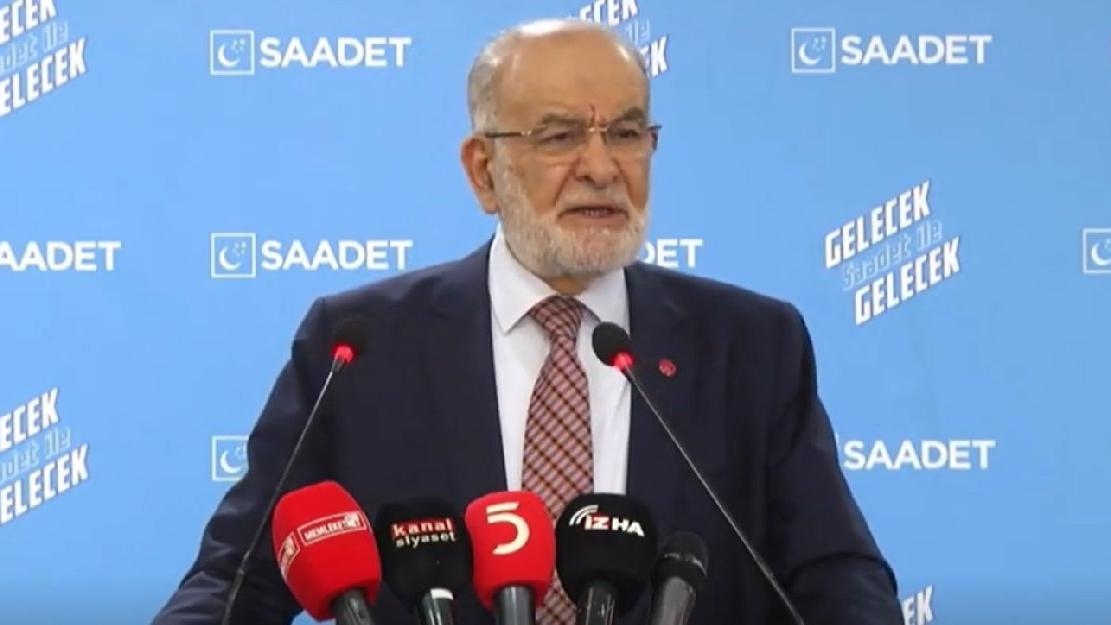 Karamollaoğlu: Padişah sosyal medyaya da göz dikti!