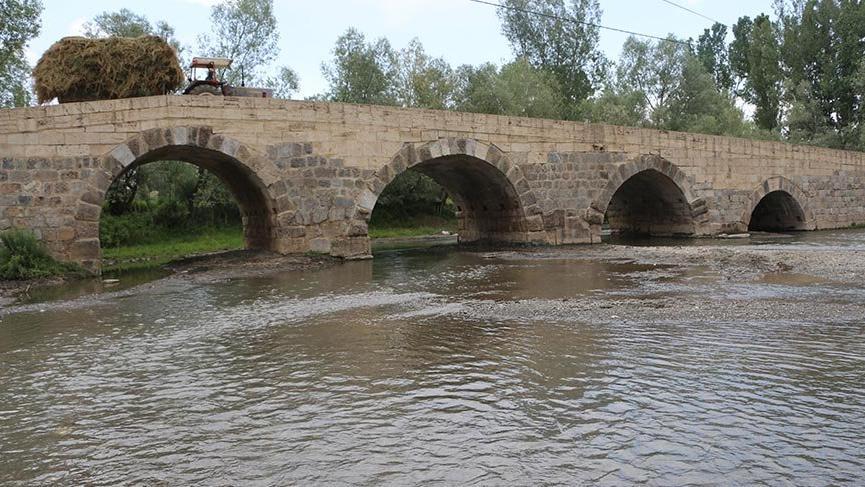 Tokat'taki Roma dönemi köprü hala kullanımda