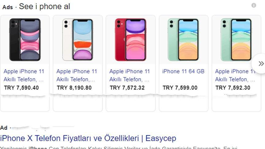 Google Türkiye'de arama sonuçlarındaki alışveriş reklamlarını kaldırıyor