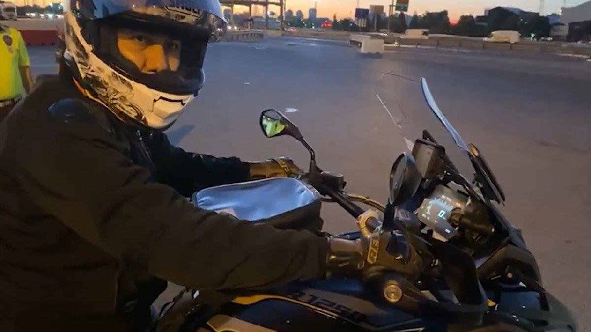 İstanbul Valisi Yerlikaya motosikleti ile denetimlere katıldı!
