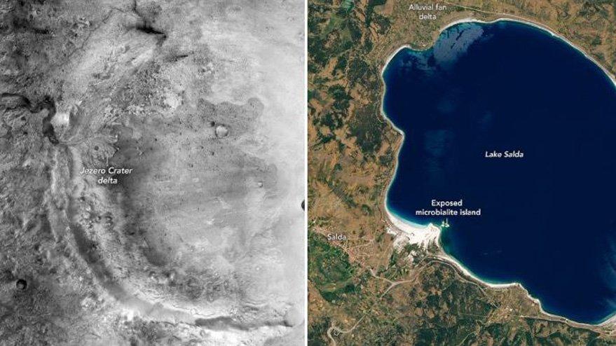 NASA duyurdu: Mars'a gidemeyiz ama ona en yakın yer Türkiye'de