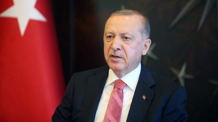 Cumhurbaşkanı Erdoğan'dan Ali Erbaş mesajı