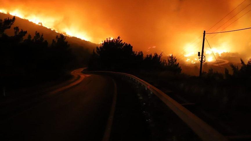 Bakan Pakdemirli duyurdu: Yangınla ilgili bir kişi gözaltına alındı