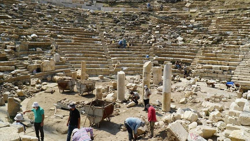 Gün yüzüne çıkarılan yapılar turizme kazandırılıyor