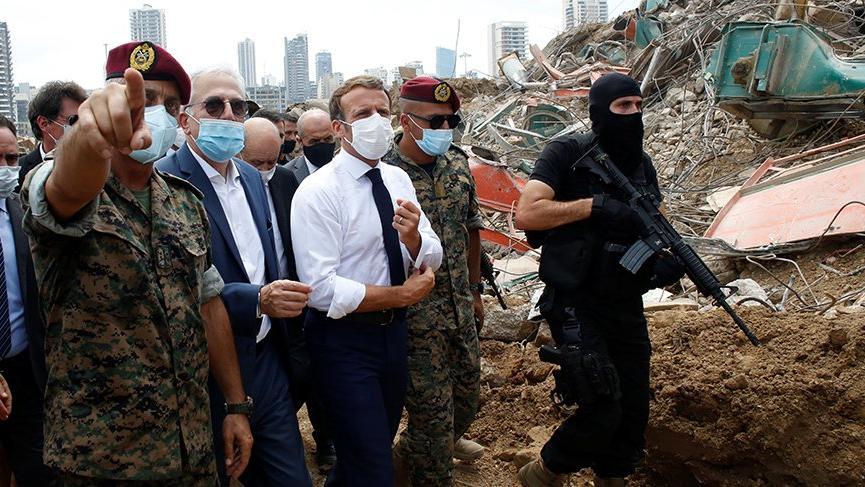 Patlama sonrası Lübnan'da öfke artarken Fransa'dan politik ittifak ...