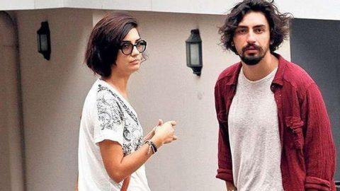 Tuba Büyüküstün'ün eski sevgilisi Umut Evirgen, Melisa Şenolsun ile birlikte