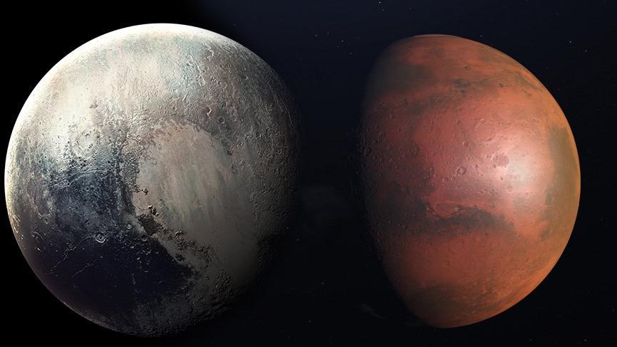 Mars ve Plüton'un kavgası başlıyor!