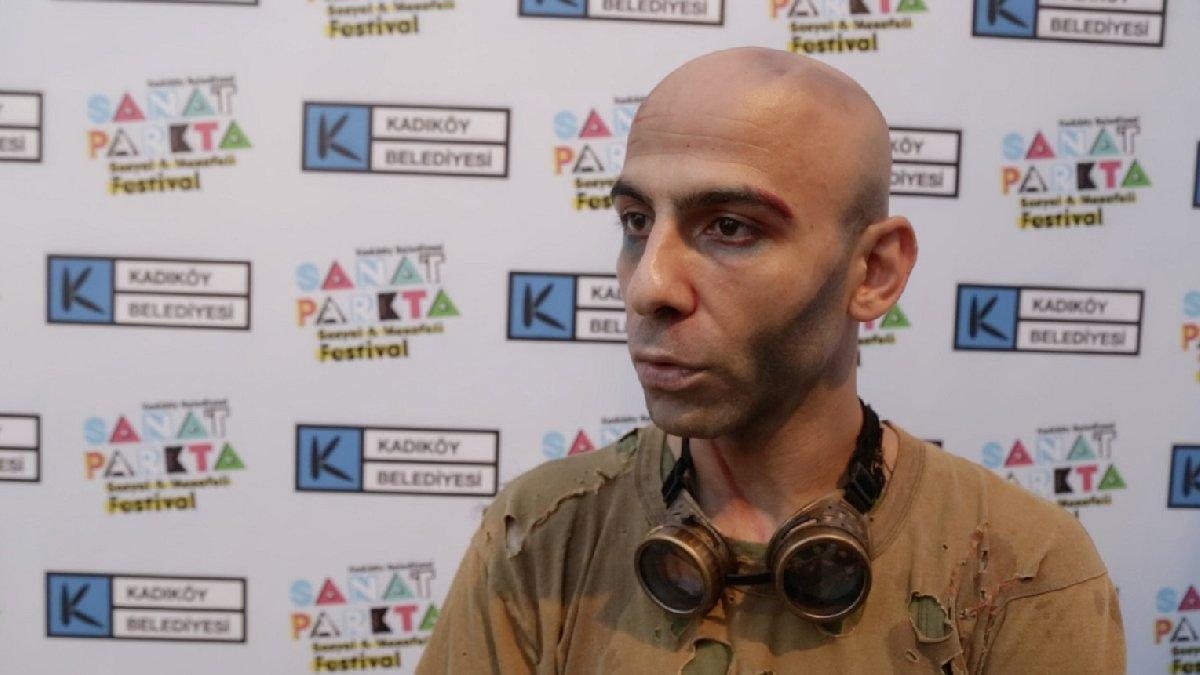Tiyatro sanatçısı Cenk Dost Verdi, suskunluğunu Sanat Park'ta festivali ile bozdu