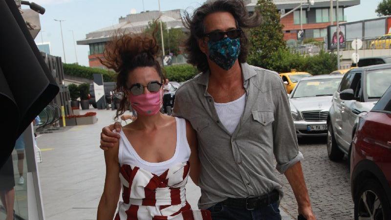 Belçim Bilgin ve sevgilisi Alfredo alışverişte…