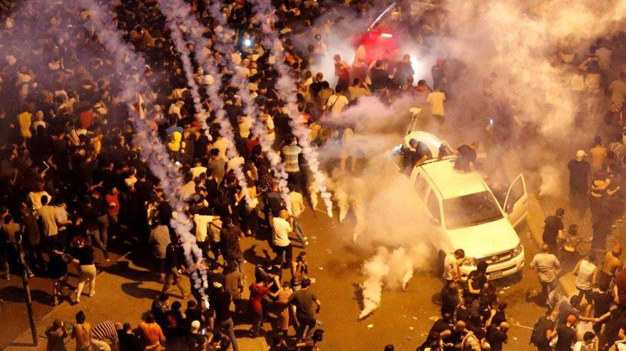 Lübnan'da son durum: Hükümetin istifasına rağmen tansiyon düşmüyor!